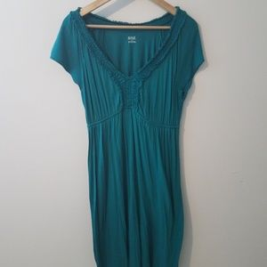 A.n.a large teal dress